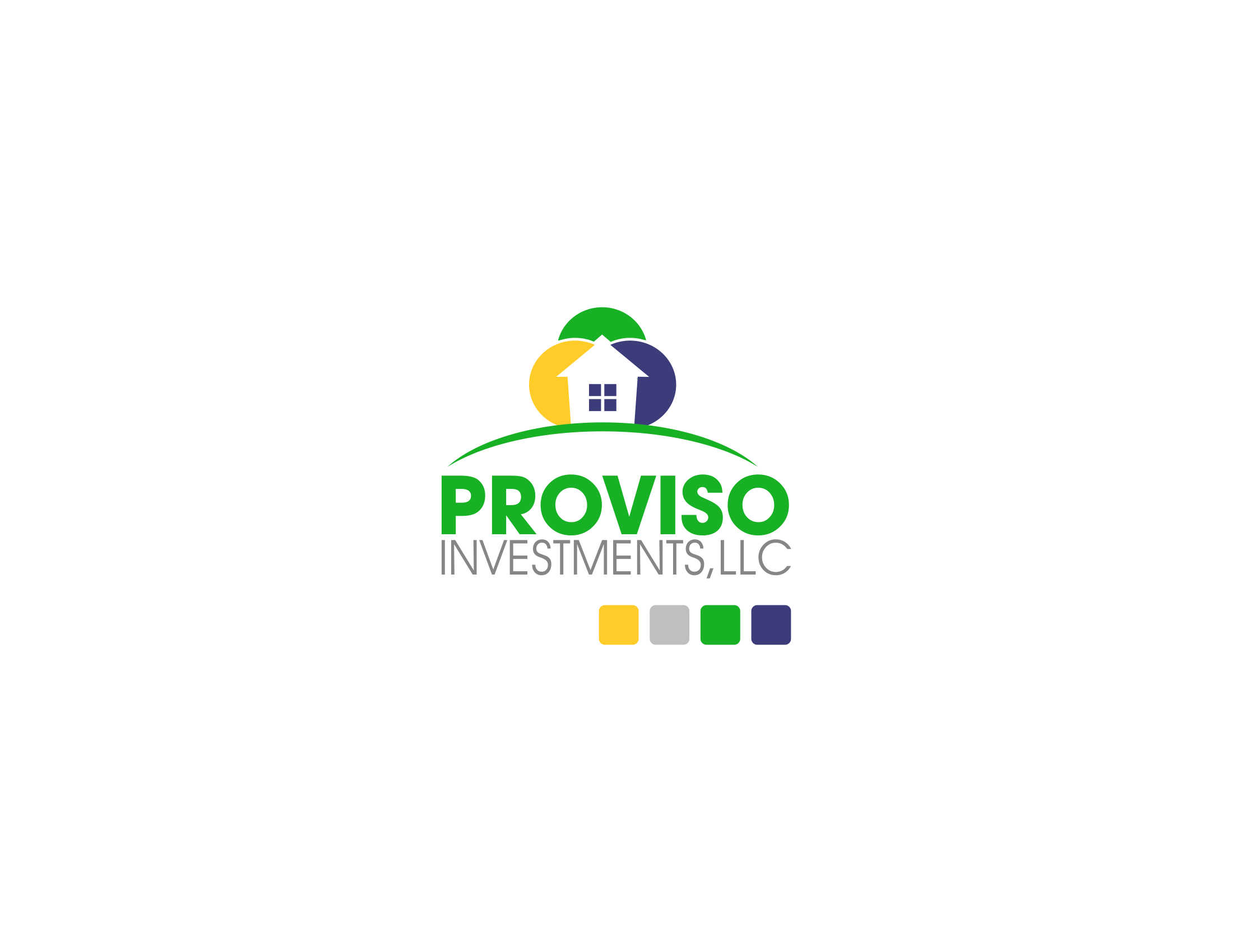 Logo Design by Private User - Entry No. 7 in the Logo Design Contest New Logo Design for PROVISO INVESTMENTS,LLC.
