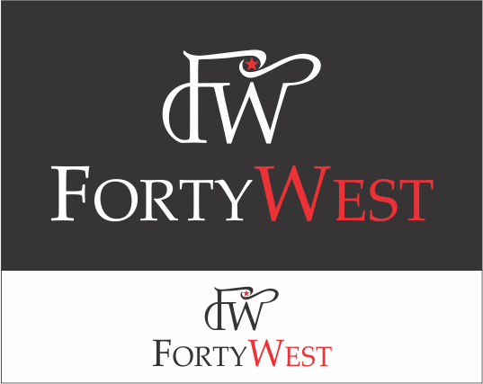 Logo Design by Armada Jamaluddin - Entry No. 148 in the Logo Design Contest Unique Logo Design Wanted for Forty West.