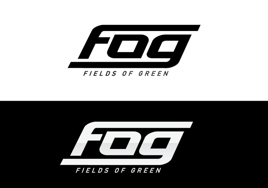 Logo Design by Dipin Bishwakarma - Entry No. 123 in the Logo Design Contest Psych-Rock Band FIELDS OF GREEN Logo Design.