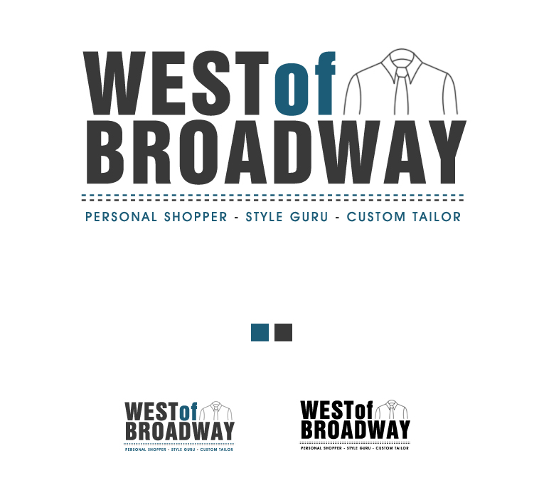 Logo Design by elmd - Entry No. 8 in the Logo Design Contest Unique Logo Design Wanted for West of Broadway.