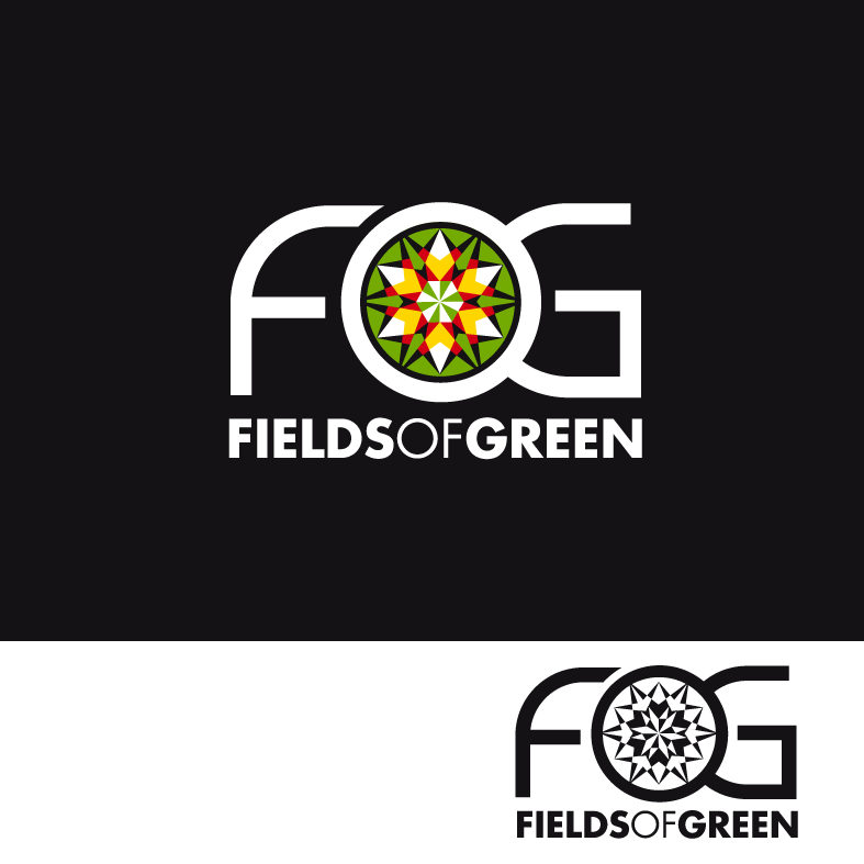 Logo Design by luna - Entry No. 131 in the Logo Design Contest Psych-Rock Band FIELDS OF GREEN Logo Design.