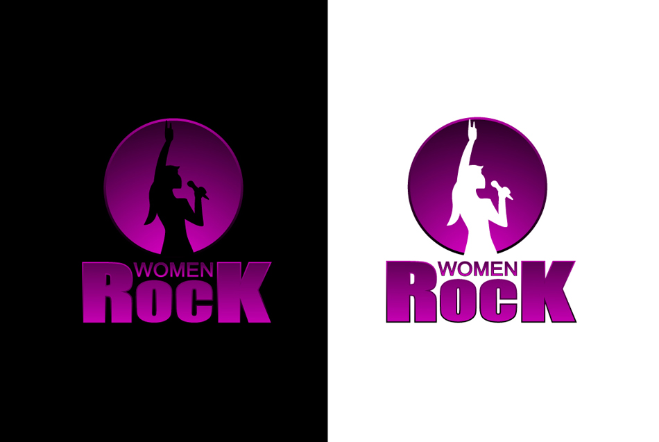 Logo Design by khraine - Entry No. 86 in the Logo Design Contest Women ROCK! - Dress for Success Pittsburgh.