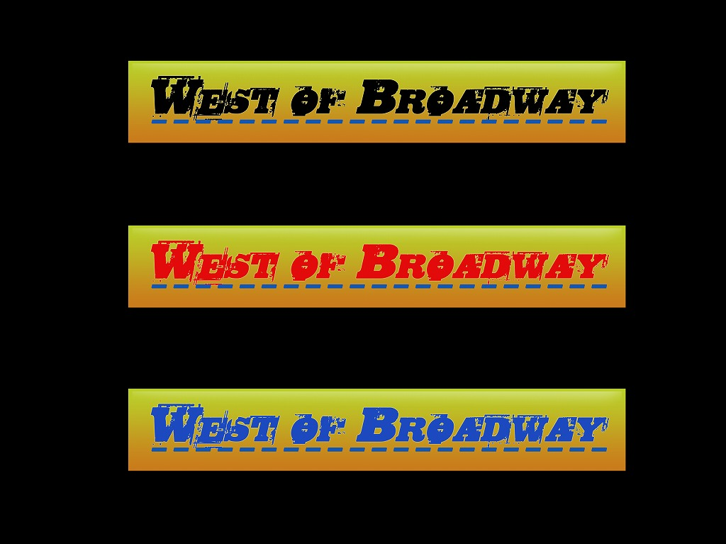 Logo Design by Jerry Nable Jr - Entry No. 12 in the Logo Design Contest Unique Logo Design Wanted for West of Broadway.