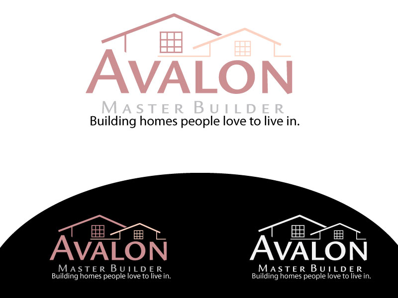 Logo Design by Osama Zia - Entry No. 27 in the Logo Design Contest Avalon Master Builder Logo Design.