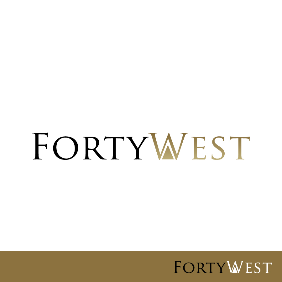 Logo Design by Edward Goodwin - Entry No. 154 in the Logo Design Contest Unique Logo Design Wanted for Forty West.