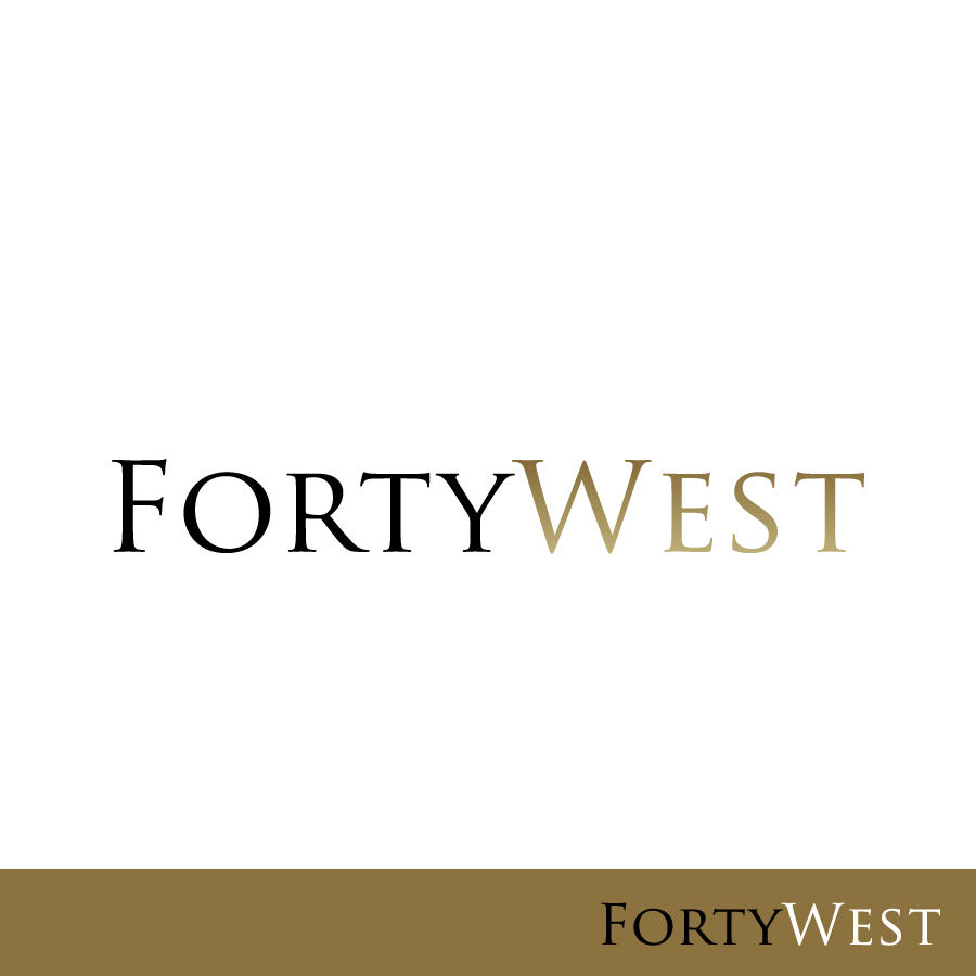 Logo Design by Edward Goodwin - Entry No. 155 in the Logo Design Contest Unique Logo Design Wanted for Forty West.