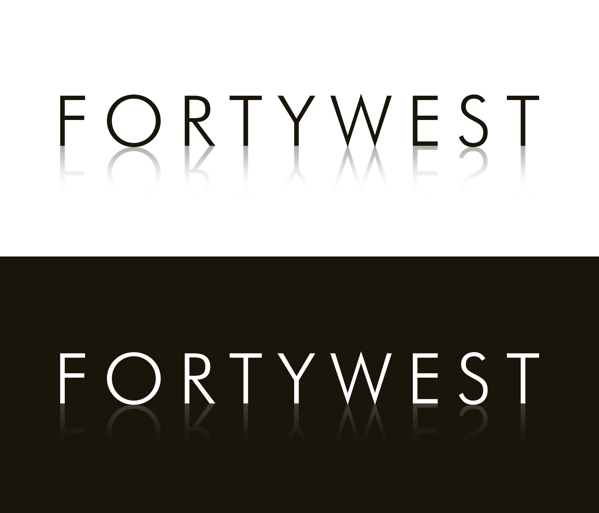 Logo Design by moidgreat - Entry No. 159 in the Logo Design Contest Unique Logo Design Wanted for Forty West.