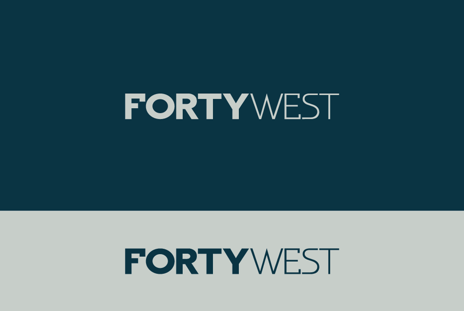 Logo Design by Dipin Bishwakarma - Entry No. 160 in the Logo Design Contest Unique Logo Design Wanted for Forty West.
