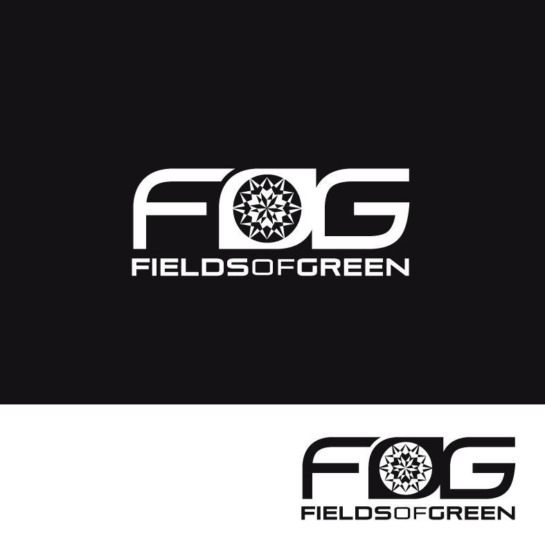Logo Design by luna - Entry No. 137 in the Logo Design Contest Psych-Rock Band FIELDS OF GREEN Logo Design.