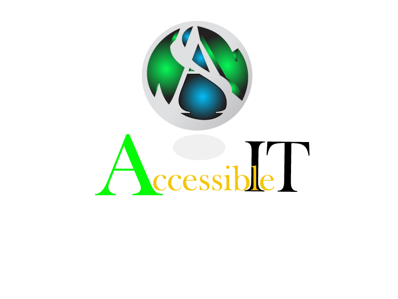 Logo Design by Leonard Anthony Alloso - Entry No. 443 in the Logo Design Contest Logo Design Needed for Exciting New Company Accessible IT.