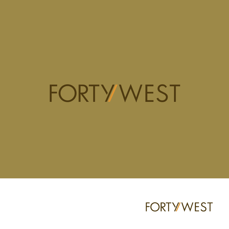 Logo Design by luna - Entry No. 169 in the Logo Design Contest Unique Logo Design Wanted for Forty West.