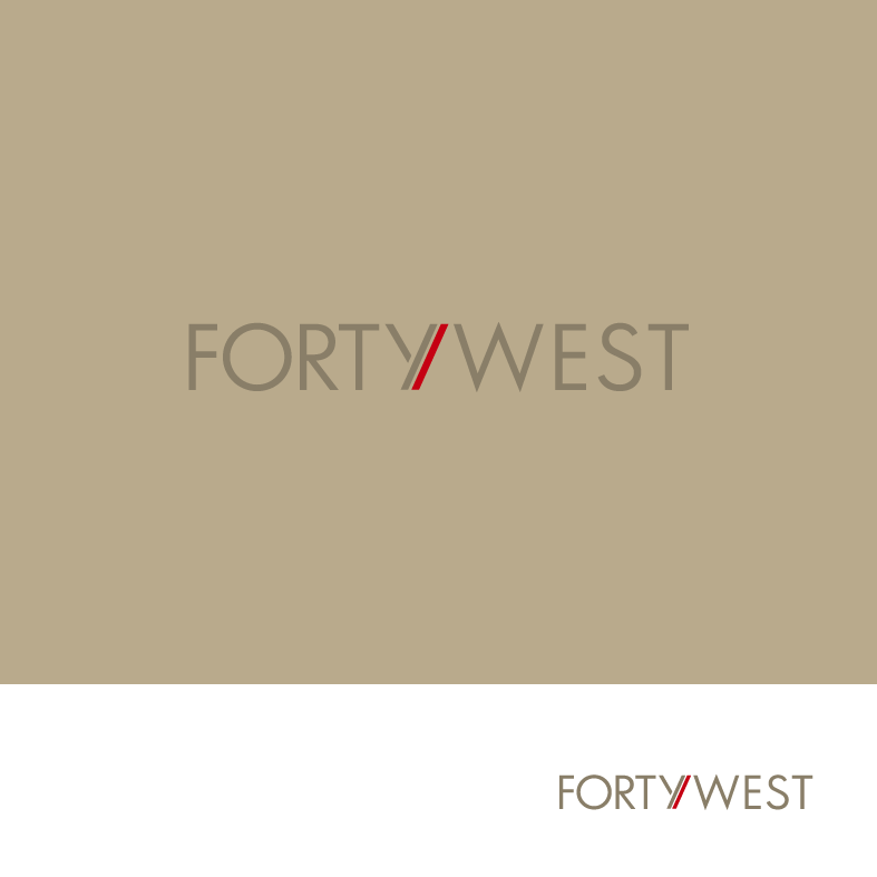 Logo Design by luna - Entry No. 170 in the Logo Design Contest Unique Logo Design Wanted for Forty West.