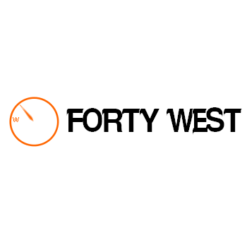 Logo Design by Ben ali Fethi - Entry No. 177 in the Logo Design Contest Unique Logo Design Wanted for Forty West.