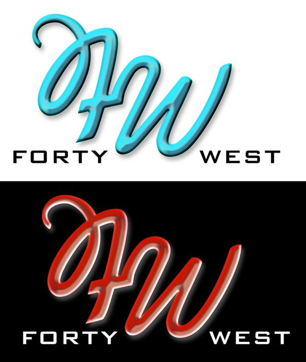 Logo Design by Respati Himawan - Entry No. 178 in the Logo Design Contest Unique Logo Design Wanted for Forty West.