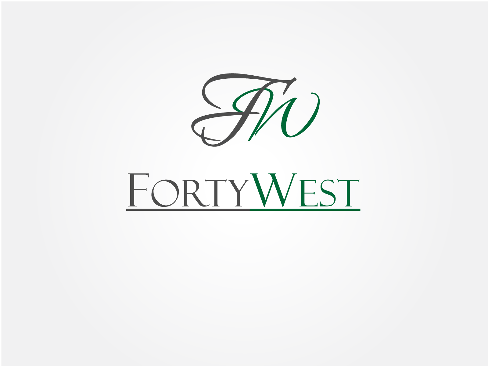 Logo Design by Jagdeep Singh - Entry No. 180 in the Logo Design Contest Unique Logo Design Wanted for Forty West.