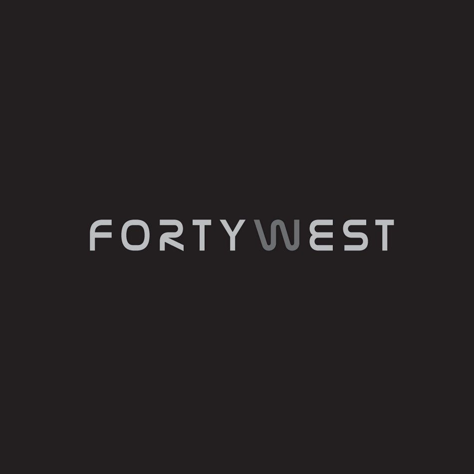 Logo Design by moonflower - Entry No. 181 in the Logo Design Contest Unique Logo Design Wanted for Forty West.
