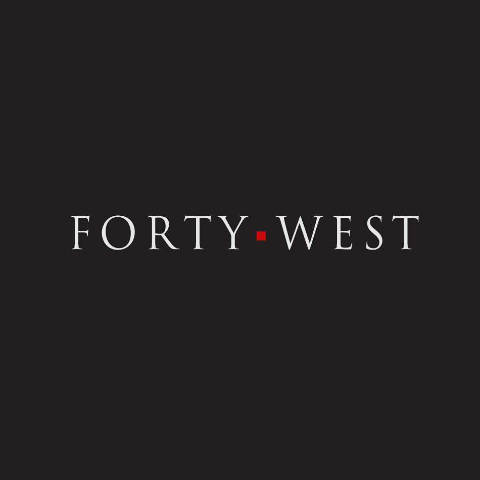 Logo Design by moonflower - Entry No. 182 in the Logo Design Contest Unique Logo Design Wanted for Forty West.