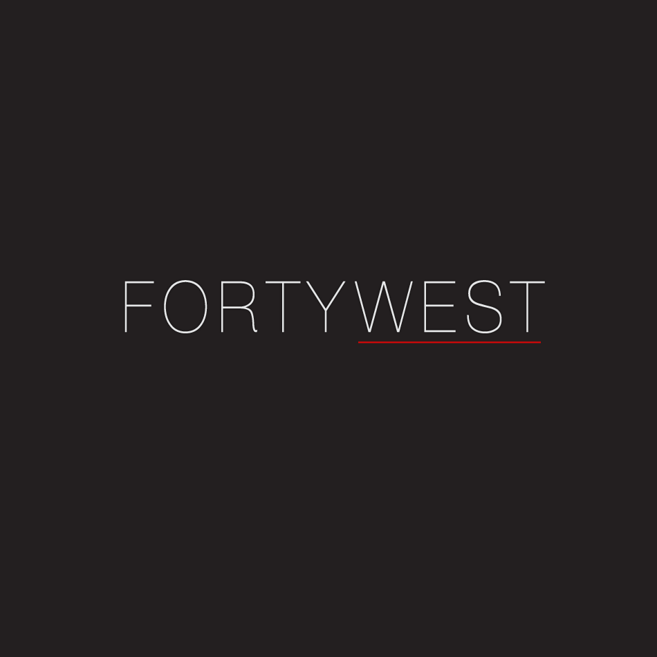 Logo Design by moonflower - Entry No. 183 in the Logo Design Contest Unique Logo Design Wanted for Forty West.