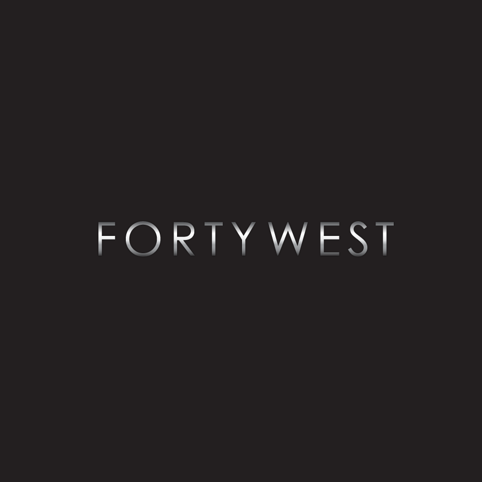 Logo Design by moonflower - Entry No. 185 in the Logo Design Contest Unique Logo Design Wanted for Forty West.