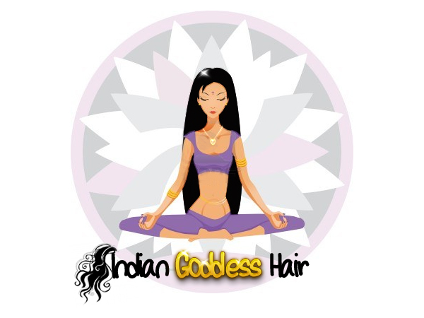 Logo Design by Private User - Entry No. 30 in the Logo Design Contest Indian Goddess Hair LOGO DESIGN.
