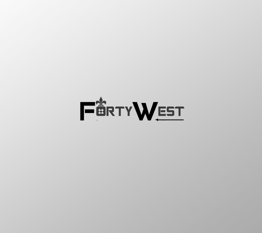 Logo Design by Private User - Entry No. 190 in the Logo Design Contest Unique Logo Design Wanted for Forty West.
