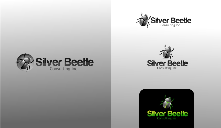 Logo Design by Private User - Entry No. 59 in the Logo Design Contest Silver Beetle Consulting Inc. Logo Design.