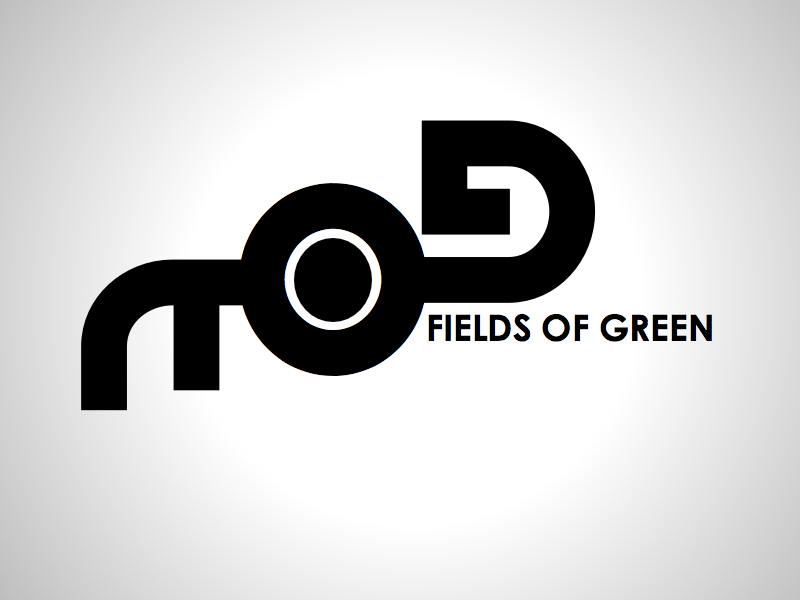 Logo Design by wagkangmakulit - Entry No. 140 in the Logo Design Contest Psych-Rock Band FIELDS OF GREEN Logo Design.