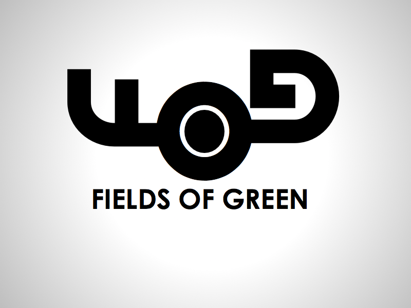 Logo Design by wagkangmakulit - Entry No. 141 in the Logo Design Contest Psych-Rock Band FIELDS OF GREEN Logo Design.