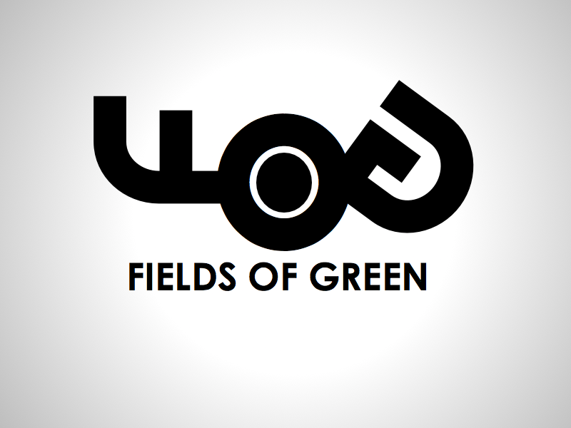 Logo Design by wagkangmakulit - Entry No. 142 in the Logo Design Contest Psych-Rock Band FIELDS OF GREEN Logo Design.