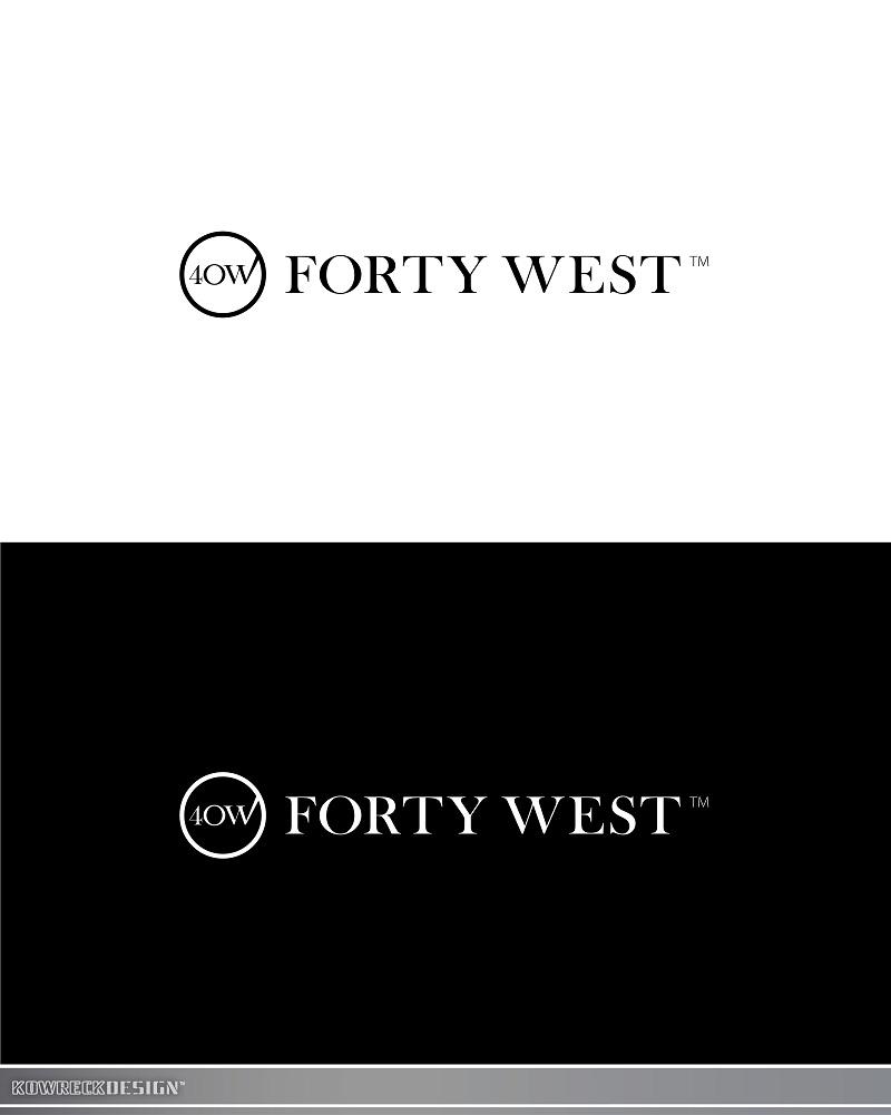 Logo Design by kowreck - Entry No. 196 in the Logo Design Contest Unique Logo Design Wanted for Forty West.