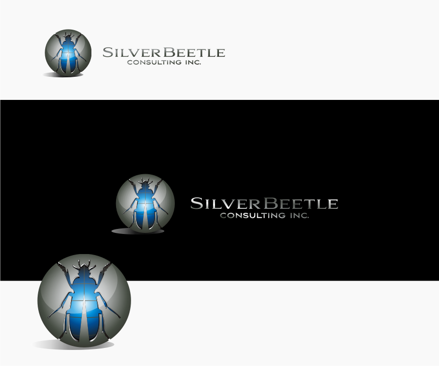 Logo Design by graphicleaf - Entry No. 60 in the Logo Design Contest Silver Beetle Consulting Inc. Logo Design.