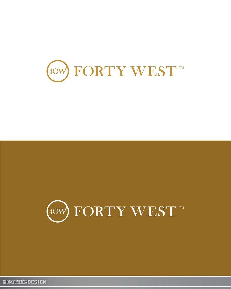Logo Design by kowreck - Entry No. 198 in the Logo Design Contest Unique Logo Design Wanted for Forty West.