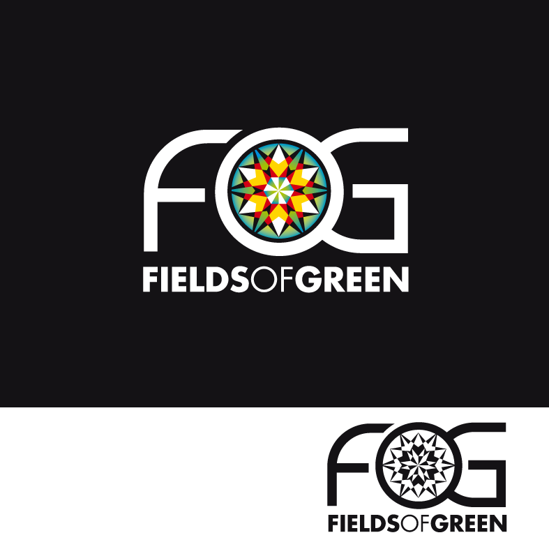 Logo Design by luna - Entry No. 145 in the Logo Design Contest Psych-Rock Band FIELDS OF GREEN Logo Design.