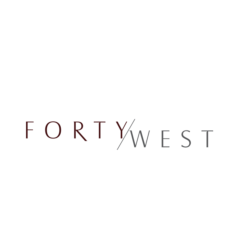 Logo Design by moisesf - Entry No. 200 in the Logo Design Contest Unique Logo Design Wanted for Forty West.