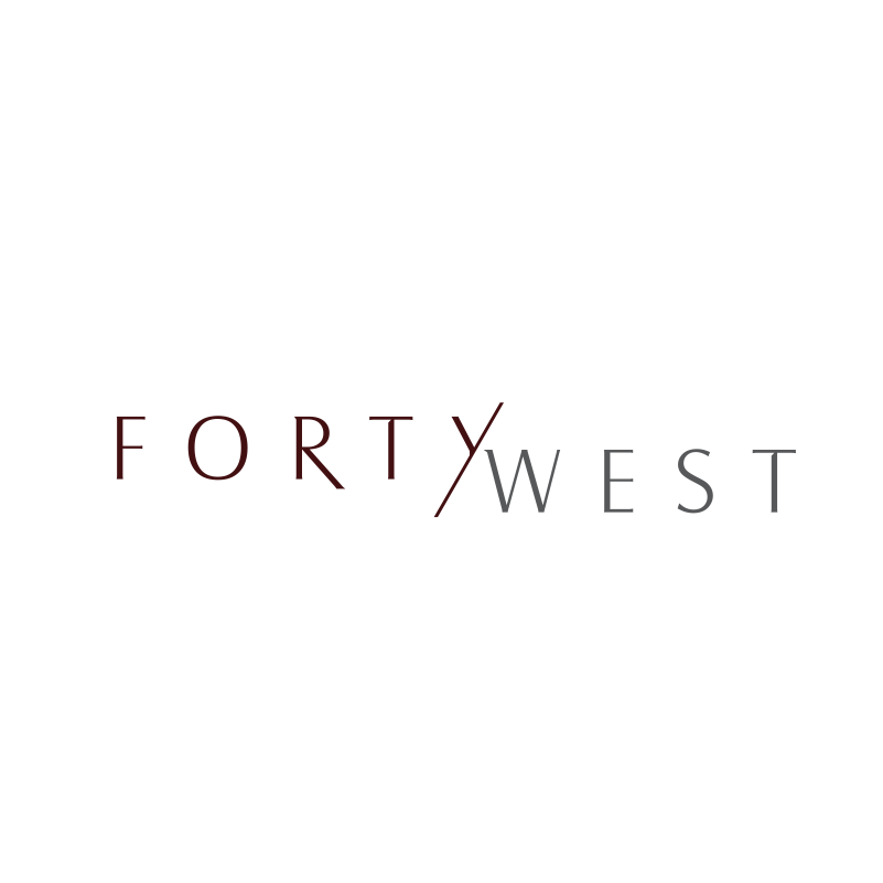 Logo Design by moisesf - Entry No. 201 in the Logo Design Contest Unique Logo Design Wanted for Forty West.