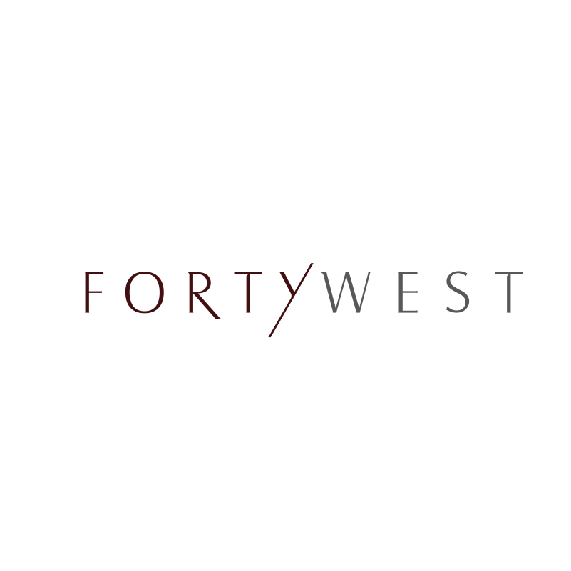 Logo Design by moisesf - Entry No. 202 in the Logo Design Contest Unique Logo Design Wanted for Forty West.