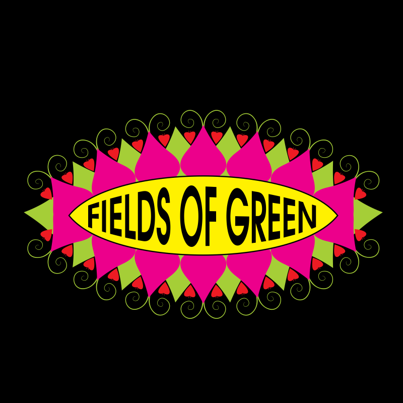 Logo Design by moisesf - Entry No. 146 in the Logo Design Contest Psych-Rock Band FIELDS OF GREEN Logo Design.