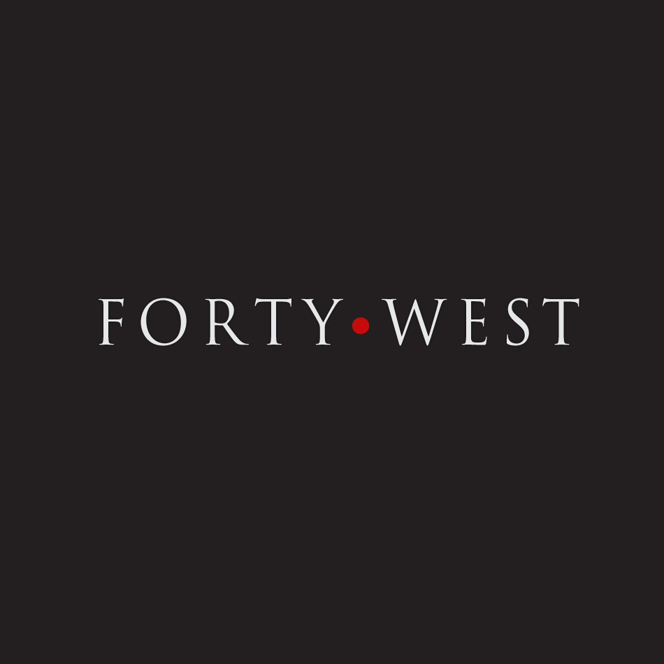 Logo Design by moonflower - Entry No. 206 in the Logo Design Contest Unique Logo Design Wanted for Forty West.