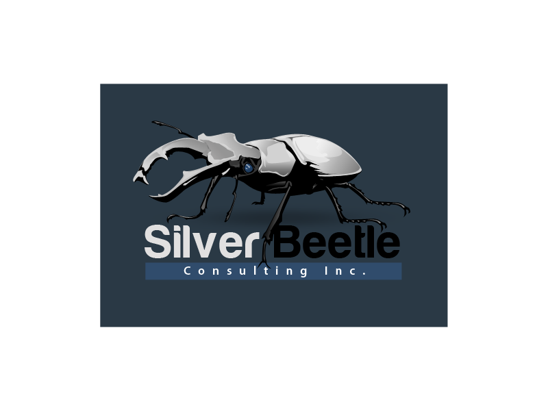 Logo Design by Aga Ochoco - Entry No. 66 in the Logo Design Contest Silver Beetle Consulting Inc. Logo Design.