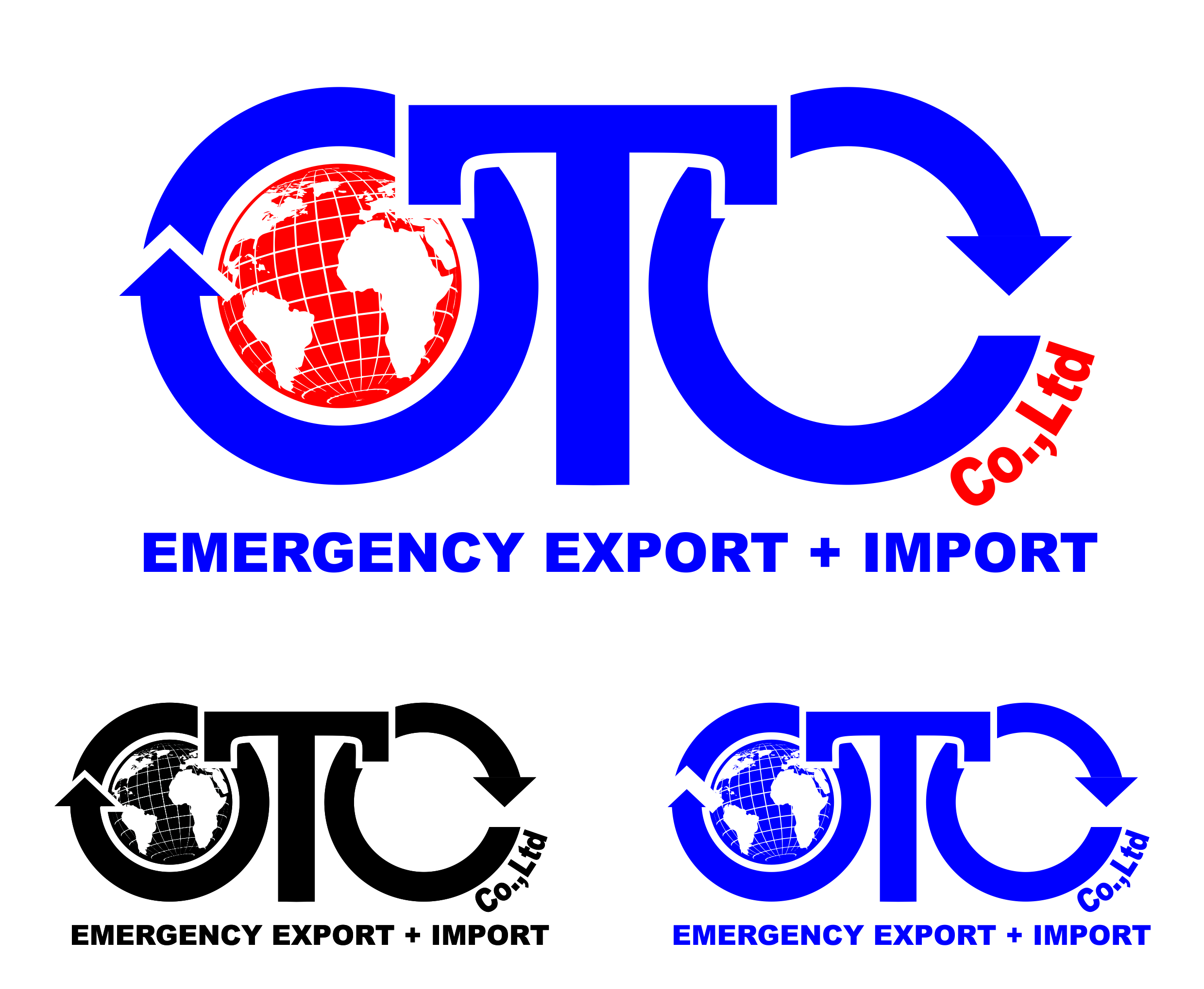 Logo Design by Private User - Entry No. 21 in the Logo Design Contest Unique Logo Design Wanted for OTC Co.,Ltd..