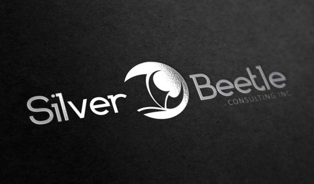 Logo Design by j2kadesign - Entry No. 70 in the Logo Design Contest Silver Beetle Consulting Inc. Logo Design.