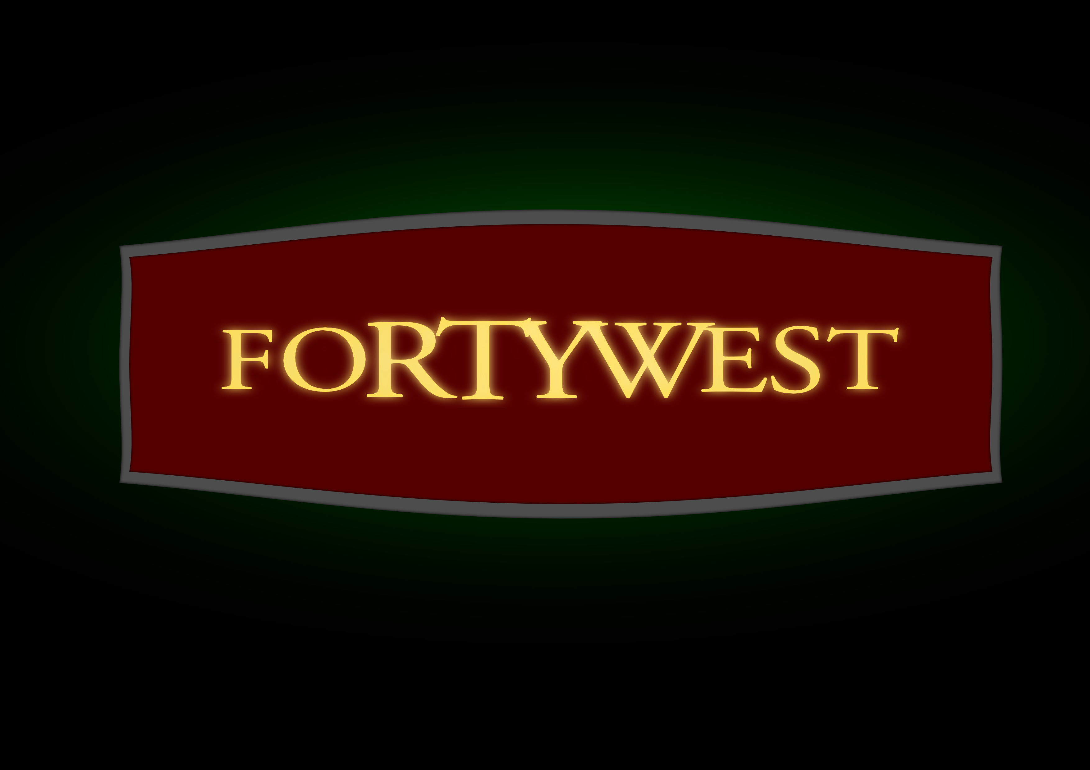 Logo Design by whoosef - Entry No. 219 in the Logo Design Contest Unique Logo Design Wanted for Forty West.