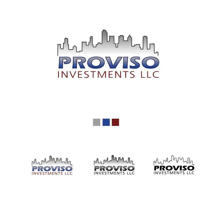 Logo Design by elmd - Entry No. 11 in the Logo Design Contest New Logo Design for PROVISO INVESTMENTS,LLC.
