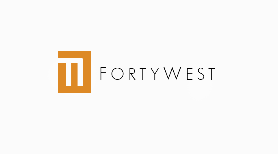 Logo Design by Private User - Entry No. 221 in the Logo Design Contest Unique Logo Design Wanted for Forty West.