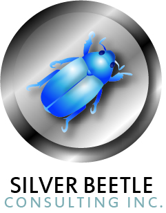 Logo Design by JOHN MICHAEL CUIZON - Entry No. 72 in the Logo Design Contest Silver Beetle Consulting Inc. Logo Design.