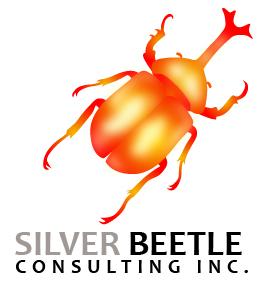 Logo Design by JOHN MICHAEL CUIZON - Entry No. 73 in the Logo Design Contest Silver Beetle Consulting Inc. Logo Design.
