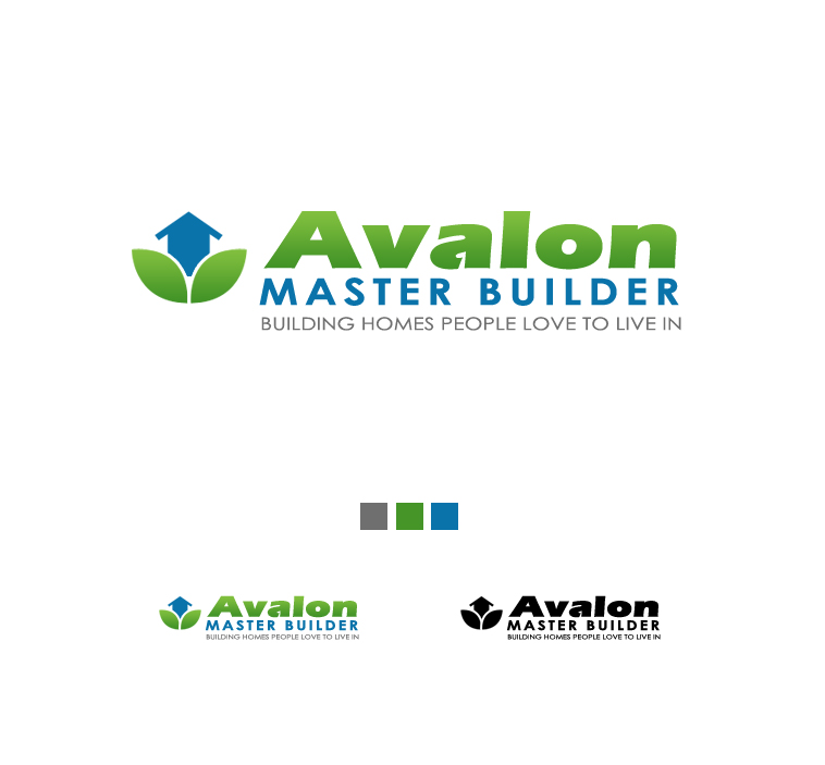 Logo Design by elmd - Entry No. 34 in the Logo Design Contest Avalon Master Builder Logo Design.