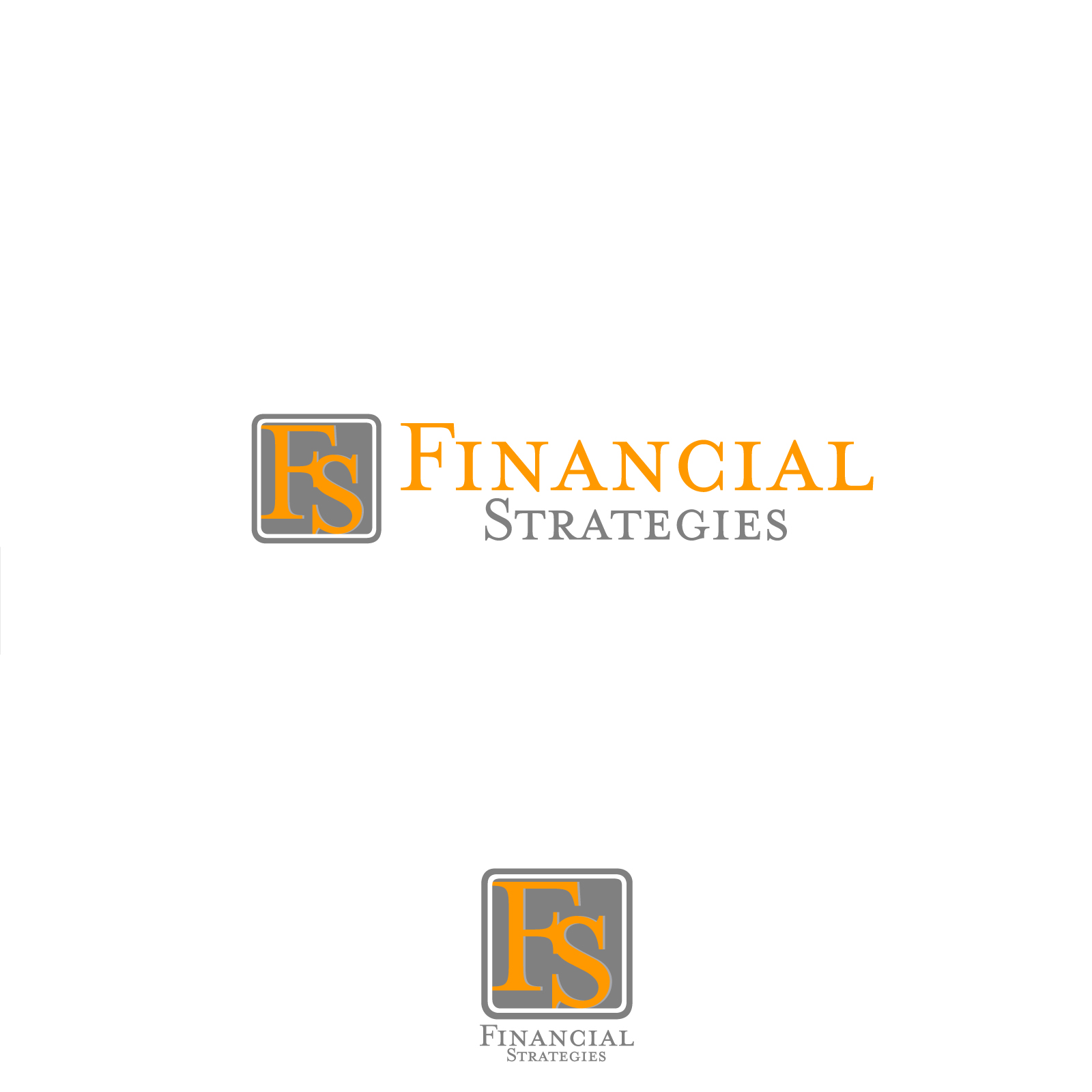 Logo Design by rockin - Entry No. 32 in the Logo Design Contest Logo Design Needed for Exciting New Company FS Financial Strategies.