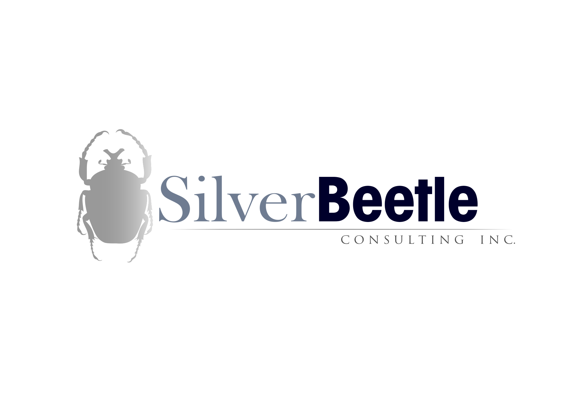Logo Design by whoosef - Entry No. 75 in the Logo Design Contest Silver Beetle Consulting Inc. Logo Design.