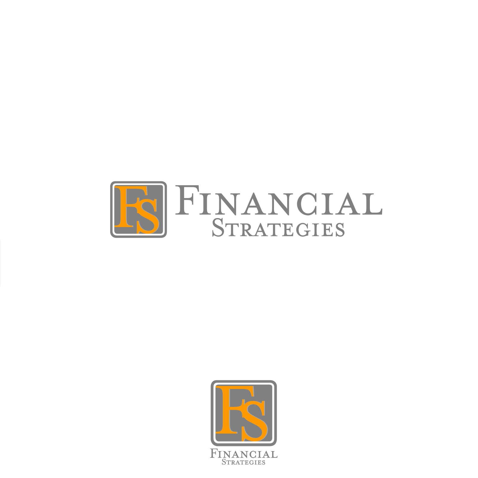 Logo Design by rockin - Entry No. 33 in the Logo Design Contest Logo Design Needed for Exciting New Company FS Financial Strategies.